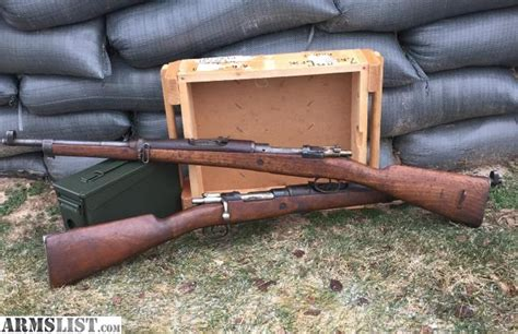 Spanish 1916 Mauser Bolt Action Rifle Chambered In 7 62x51 308
