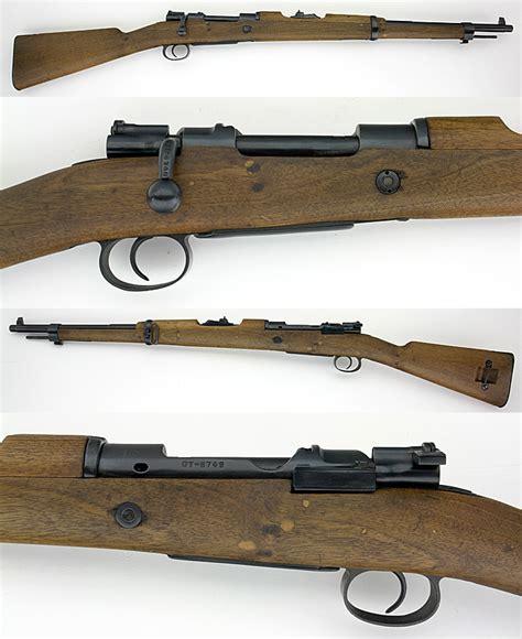 Spanish 1916 Mauser Bolt Action Short Rifle 308