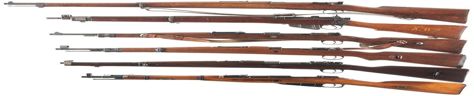 Spanish Military Mauser Rifle Remington
