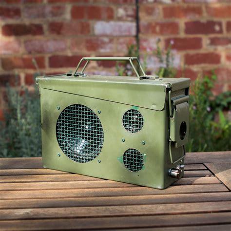 Speaker In Ammo Box