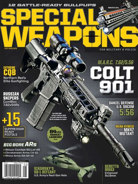 Special Weapons Magazine August 2015 Pdf Document