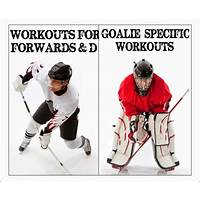 Specific off ice training for hockey goalies and skaters immediately