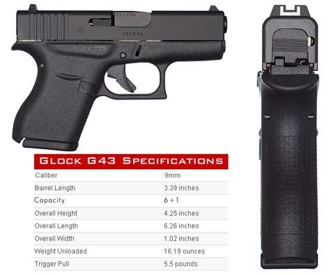 Specs Glock 43