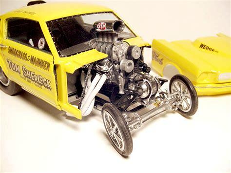 Speed City Resin Vintage Drag Racing Model Cars