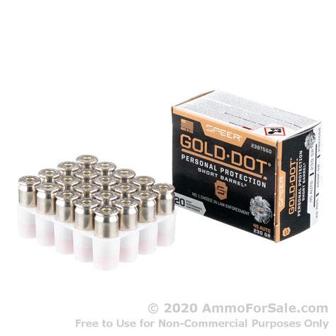 Speer 45 ACP Ammo As Cheap As 27 Per Round - AmmoGrab Com