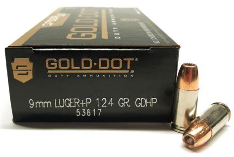 Speer Gold Dot P 124 Grain
