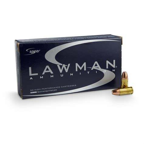 Speer Lawman 147 Clean Fire Ammo Review