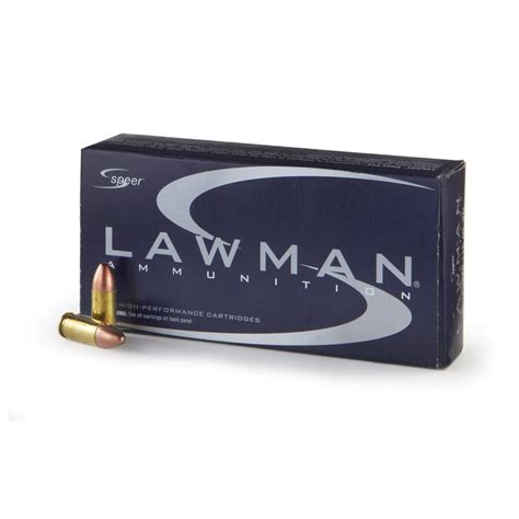 Speer Lawman 9mm