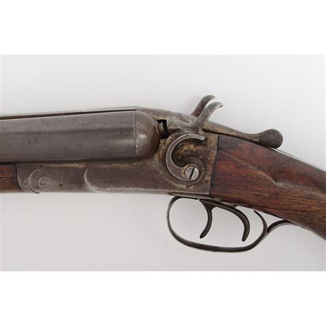 Spencer Gun Co Double Barrel Shotgun