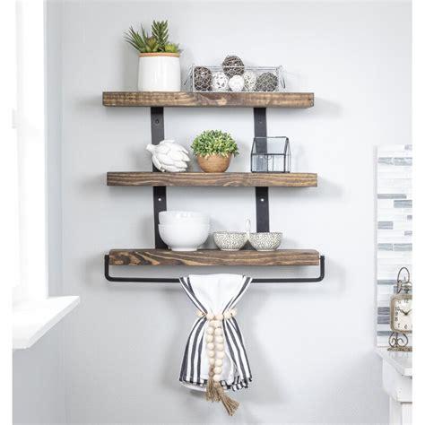 Spenser 3-Tier Floating Wall Shelf