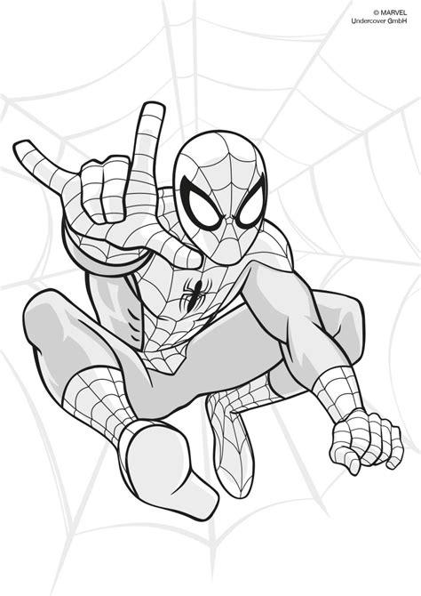 Spiderman Malvorlage