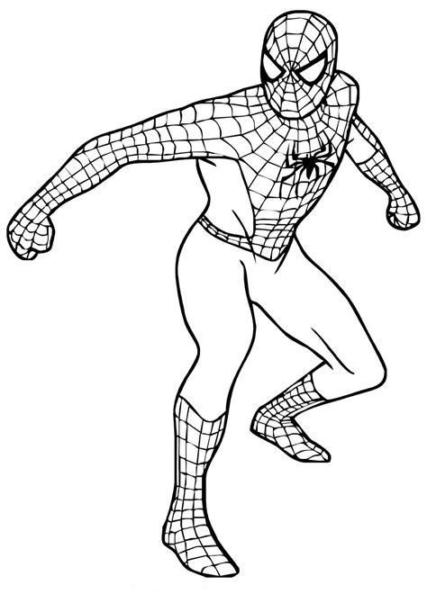 Spiderman Malvorlagen Gratis Zum Drucken