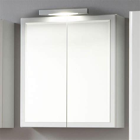 Spiegelschrank Weiß Hochglanz