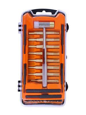 SPIKA Gunsmithing Tools Gun-Care Hammer And Brass Punch