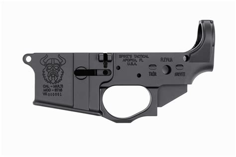 Spikes Tactical Ar 15 Stripped Lower Receiver