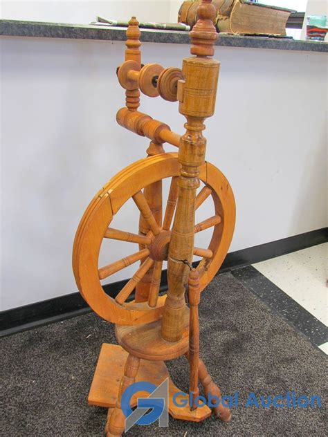 spinning wheel woodworking plans.aspx Image