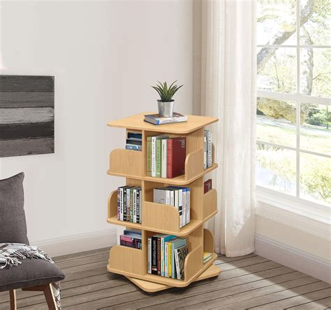Spinning bookcase tower Image