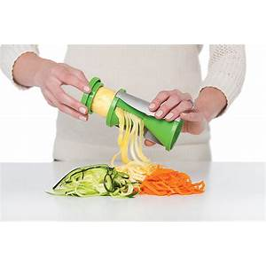 Spiral vegetable shredder free shipping step by step
