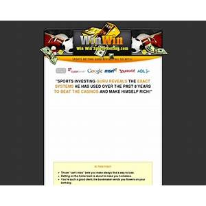Sports betting systems unbeatable sports betting system win win sports betting system discount code