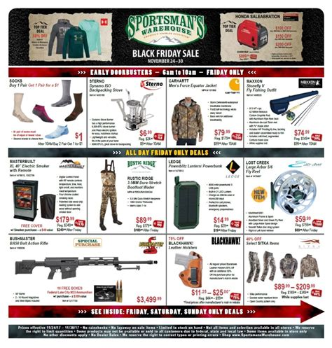 Sportsmans-Warehouse Sportsmans Warehouse Black Friday 2017