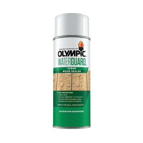 Spray sealant for wood Image
