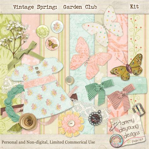 Spring Digital Scrapbooking Kits