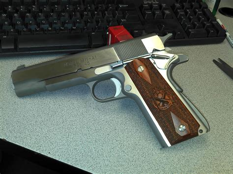 Springfield 1911 Stainless Mil-spec Mainspring Housing