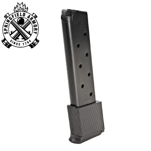 Springfield 1911a1 45 Acp 10 Rd Extended Magazine Blue 23 75