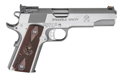 Springfield Armory 1911 Range Officer Stainless Steel For Sale