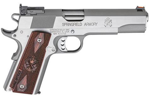 Springfield Armory 1911 Stainless Range Officer Review