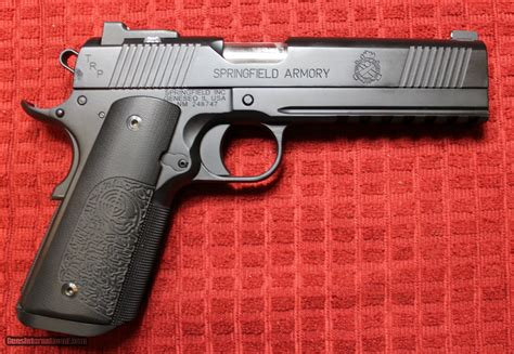 Springfield Armory 1911 Trp Full Rail For Sale
