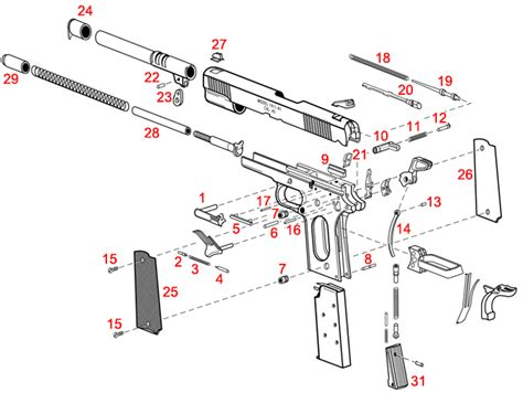 Springfield Armory Loaded Models 1911 Schematic
