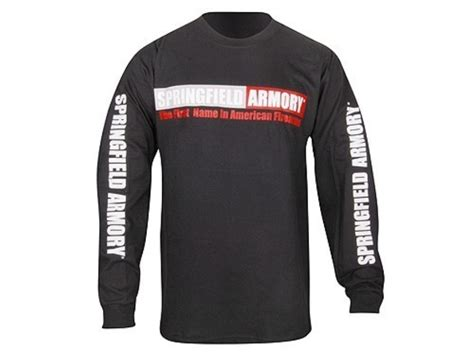 Vortex Springfield Armory Long Sleeve T Shirt.