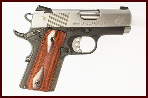Springfield Armory Micro-Compact Models 1911 Clat