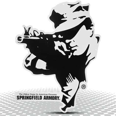 Springfield Armory Tin Sign