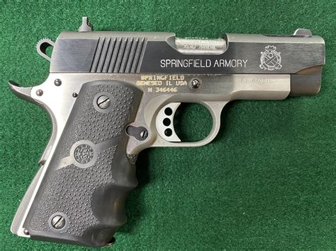 Springfield Armory Ultracompact V10 Stainless 1911 Pistol