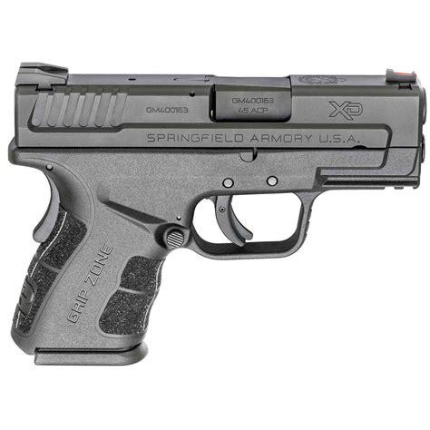 Springfield Armory Xd Sub Compact Pistol Sportsman S