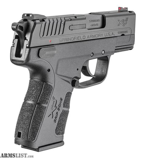Springfield Armory Xde Edc Package 9mm Sfxde9339ben18
