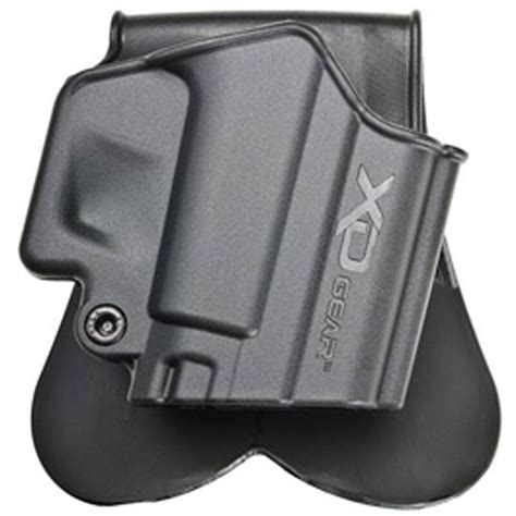 Springfield Armory Xds Paddle Holster Right Hand Polymer Black And Springfield Armory Xds 10mm Sale