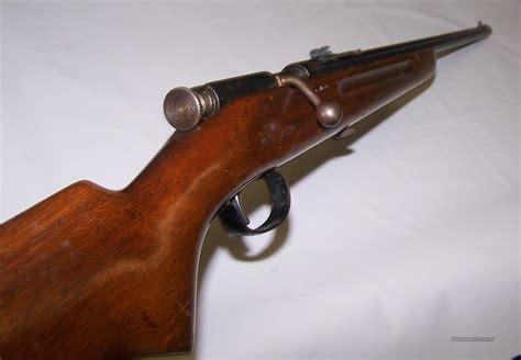 Springfield Bolt Action Single Shot 22 Rifle