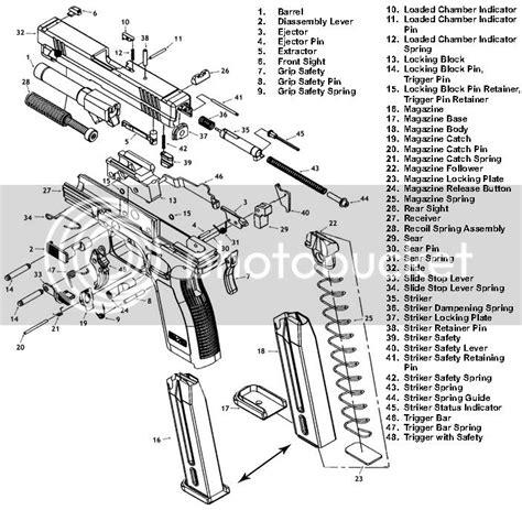 Springfield Xd 40 Diagram