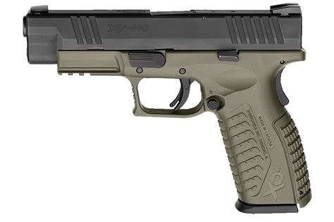Springfield Xd 40 Stainless Od Green