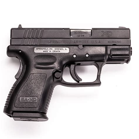 Springfield Xd 40 Subcompact For Sale