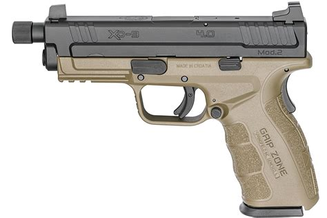 Springfield Xd Mod 2 Service Review And Springfield Xd Tactical 45 Gap Conversion Barrel