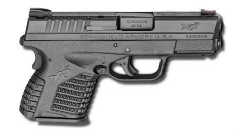 Springfield Xds 3 3 Bbl 40 S Amp W 6 Rd Black For Sale