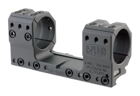 Spuhr 34mm Picatinny-Style Rings Matte - MidwayUSA