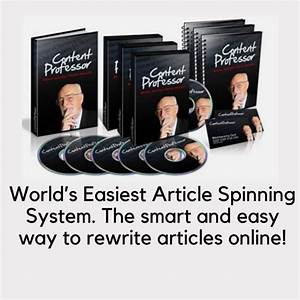 Spun articles instant content robot programs