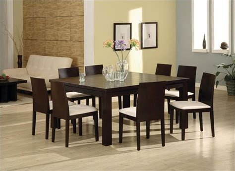Square dining room table for 8 Image