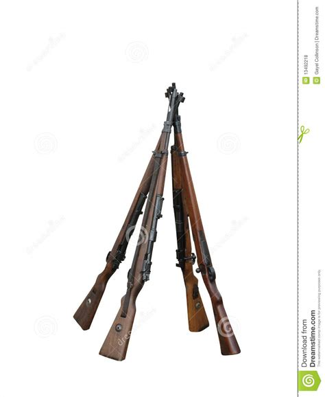 Stack Of Rifles