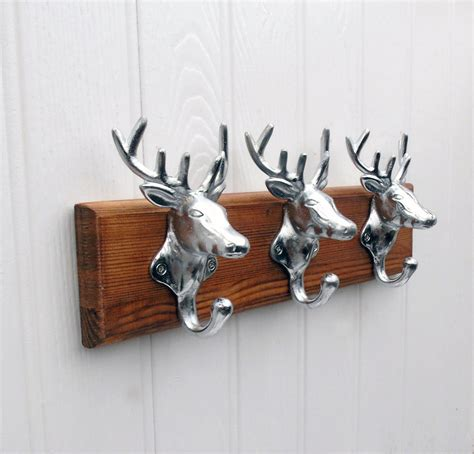 stag head coat rack